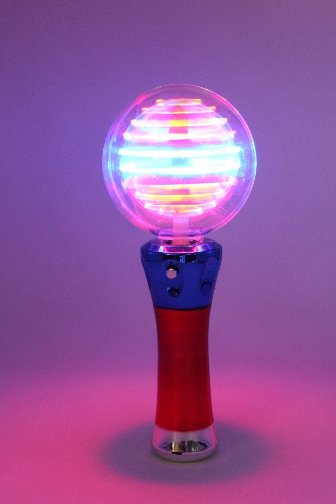 SSBW Sensory Spinning Ball Wand (hand Held) D (Large)